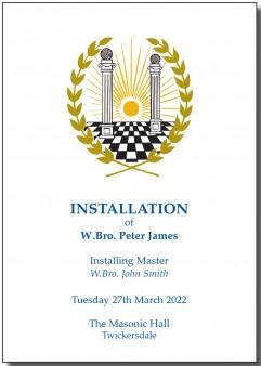 Installation Menu Card