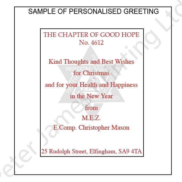 Fraternal greetings christmas card pj 935 fraternal greetings christmas card m4hsunfo