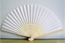 white-silk-fan-
