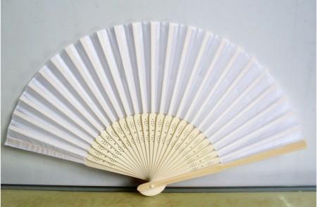white-silk-fan-
