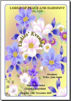 PJ204 Floral Spectacular