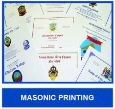 Masonic Printing HOME
