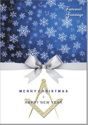 Masonic Christmas Card